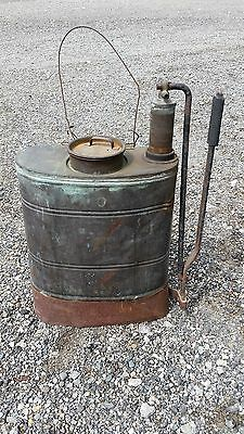 Antique Fire Metal Backpack Drip Torch - Turn of the Century