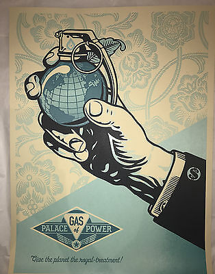 Shepard Fairey Screen Print Obey Giant Royal Treatment Money Signed & Numbered