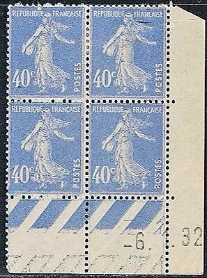 Timbres - France - Coin daté - Neuf - Typographiés - Y&T N ° 237 **