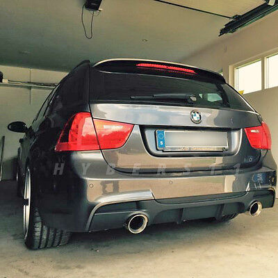 """4"""" Double Wall Stainless Steel Exhaust Tips for BMW 3 Series Touring 335d E91"""