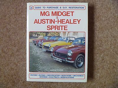 MG Midget & Austin Healey Sprite Manual/Guide to Purchase & DIY Restoration