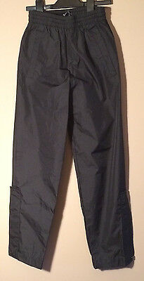 Waterproof Trousers Golf age 9-10 years Black