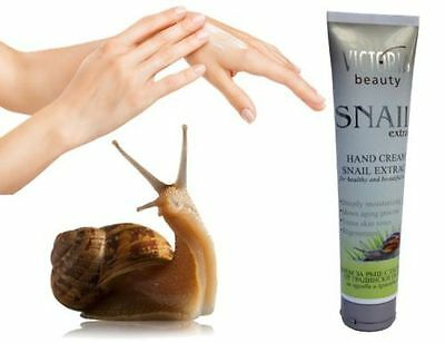 NEW Victoria Beauty hands cream with extract of snails All Skin Types