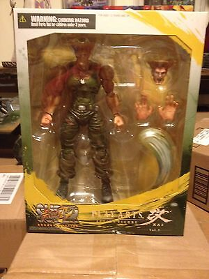 Guile Play Arts Kai Figure Action Figure Street Fighter IV