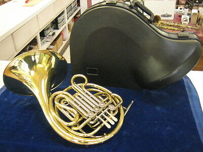 Extra Clean Holton H-378 Double French Horn, With Warranty!