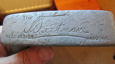 Rare Hickory GOLF CLUB PUTTER The WEETMAN   1950 ? Hand Made