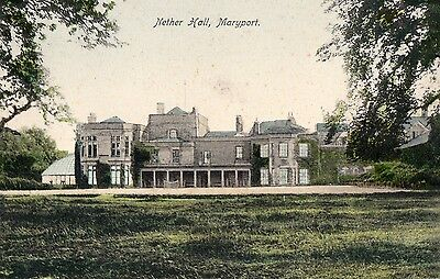 Nether Hall, MARYPORT, Cumberland RP - card 2