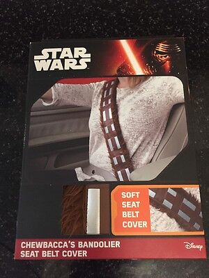 Star Wars Chewbacca Universal Soft Car Seat Belt Cover Shoulder Harness Pad