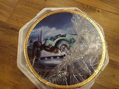 Star Wars Space Vehicles Hamilton Collection Plate Slave 1