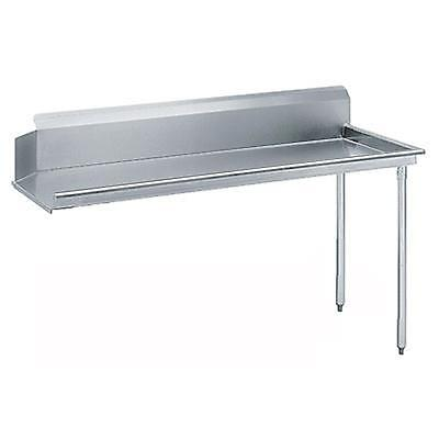 "Advance Tabco 48"" Stainless Clean Dishtable 16 Gauge w/ Stainless Legs"