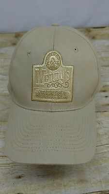 Wendys Old Fashioned Hamburgers  Beige Hat Adjustment Fit Fast Food Collection