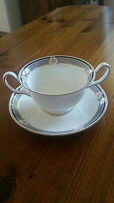 Wedgwood Waverley Soup Cup and Saucer