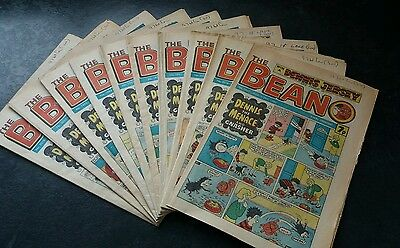 THE BEANO COMIC 10 in total