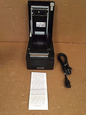 Citizen CT-S2000 Thermal Receipt Printer - CT-S2000 PAU-BK with USB and Parallel