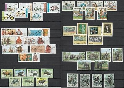 YS-B789 VIETNAM - Animals, Sport, Bycicles, Soccer, Pottery Used