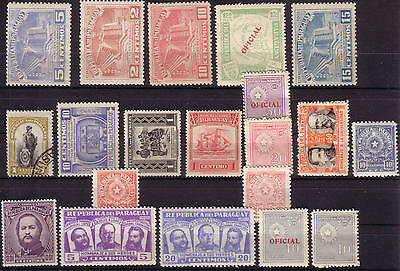 YS-D230 PARAGUAY - Lot, Fine Lot Collection With Official MNH
