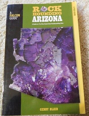 """Rockhounding Arizona""- Book - New"