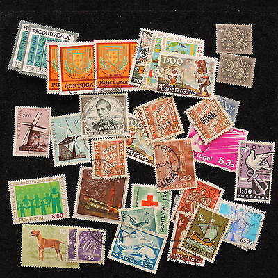 YS-E708 PORTUGAL - Lot, Old Stamps Used