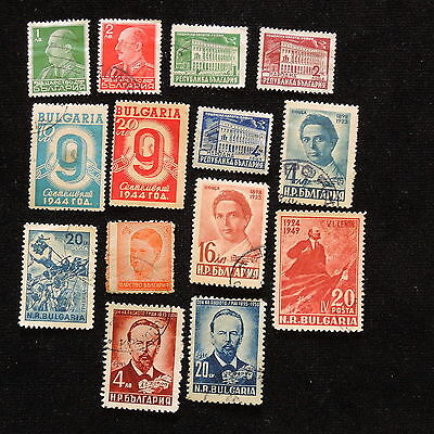 YS-F026 BULGARIA - Lot, Old Stamps Used