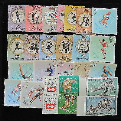 YS-F178 OLYMPIC GAMES - Hungary, Great Stamps Used