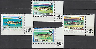 YS-F377 ROMANIA - Wwf, Lot Of 4 Great Stamps MNH