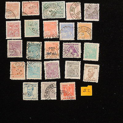 YS-F767 BRAZIL - Used, Ordinary Old Stamps, S.I.