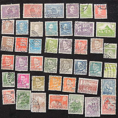 YS-G582 DENMARK - Lot, Old Stamps Used