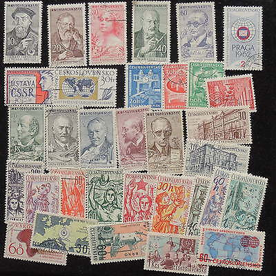 YS-G695 CZECHOSLOVAKIA - Lot, Old Stamps Used