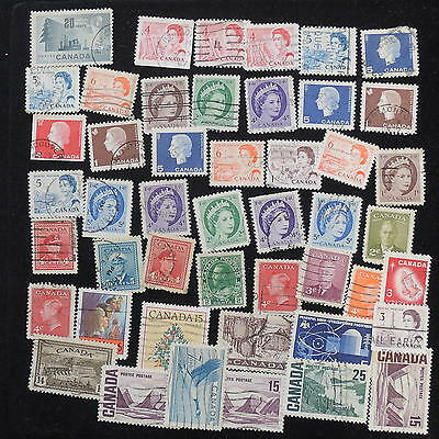 YS-G717 CANADA USED - Lot, Old Stamps Used
