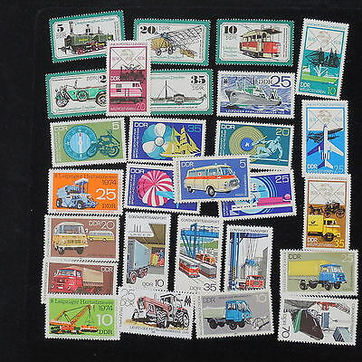 YS-G726 TRANSPORTATION - Germany/Ddr, Great Selection Of Stamps MNH
