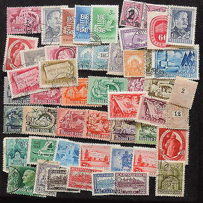 YS-G805 HUNGARY - Lot, Old Stamps Mh And Used