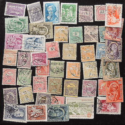 YS-G807 HUNGARY - Lot, Old Stamps Used