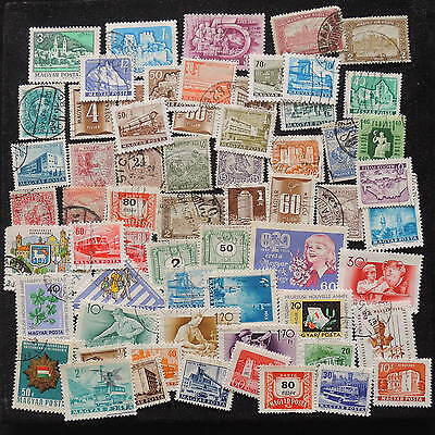 YS-G809 HUNGARY - Lot, Old Stamps Used
