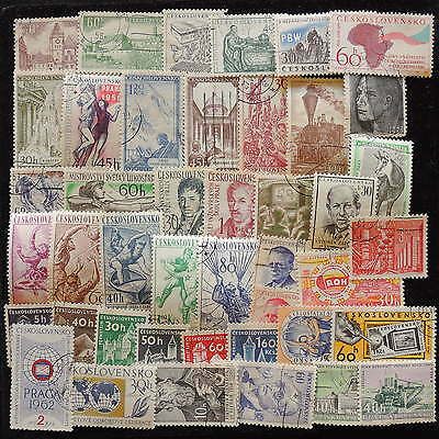 YS-G854 CZECHOSLOVAKIA - Lot, Old Stamps Used