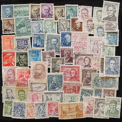 YS-G855 CZECHOSLOVAKIA - Lot, Old Stamps Used