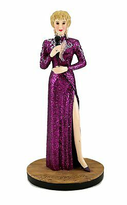 """Nib 1995 Country Music Legends Tammy Wynette 5"""" Figure-Numbered & Coa Included"""
