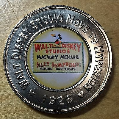Disney Decades Medal, Move To Hyperion 1926