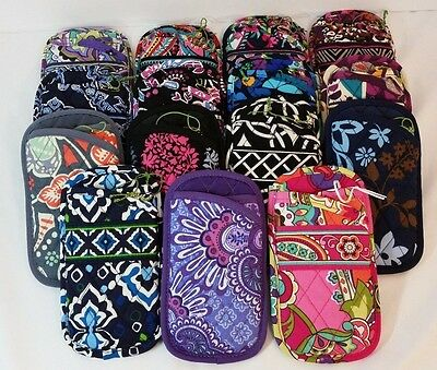 Vera Bradley Double Eye Eyeglass Case in Several Choices NWT