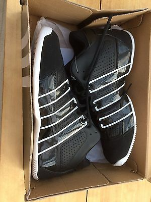 Men's Adidas Commander TD Lite Basketball Trainers UK Size 10 Black New