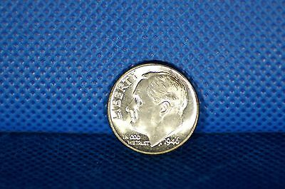 1946 Roosevelt Dime US Silver Coin