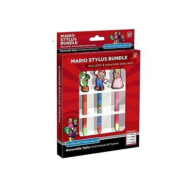 Nintendo 3DS MARIO STYLUS BUNDLE (Compatible with all DS, DSi, 3DS) NEW