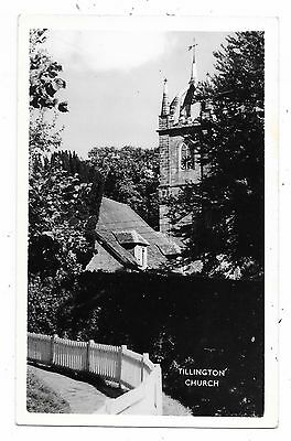Superb Real Photogrphic Postcard Of Tillington Church Chichester Sussex