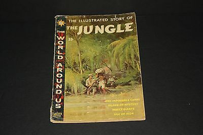 Classics Illustrated Comic Book The Illustrated Story of The Jungle) 1960 (G/VG)