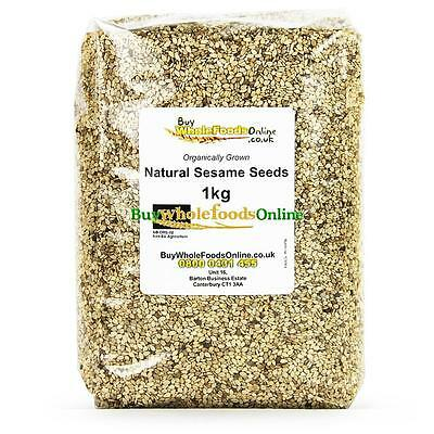 Organic Natural Sesame Seeds 1kg