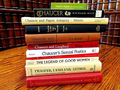 Lot of 11, Chaucer and Pagan Antiquity, French Contemporaries, Sexual Poetics...