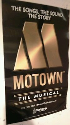 Motown the Musical London Theatre poster