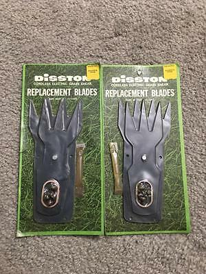 2 Disston Cordless Electric Grass Sheers Replacement Blades 1571909