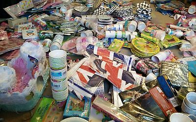 MASSIVE JOB LOT of PARTY THEMED items 1000s. AMSCAN, DISNEY, BABY SHOWER