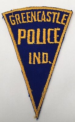Old pattern Greencastle Police Indiana shoulder patch