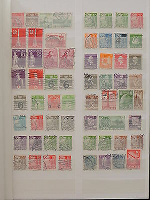 YS-H139 DENMARK - Lot, Ordinary Old Stamps Used